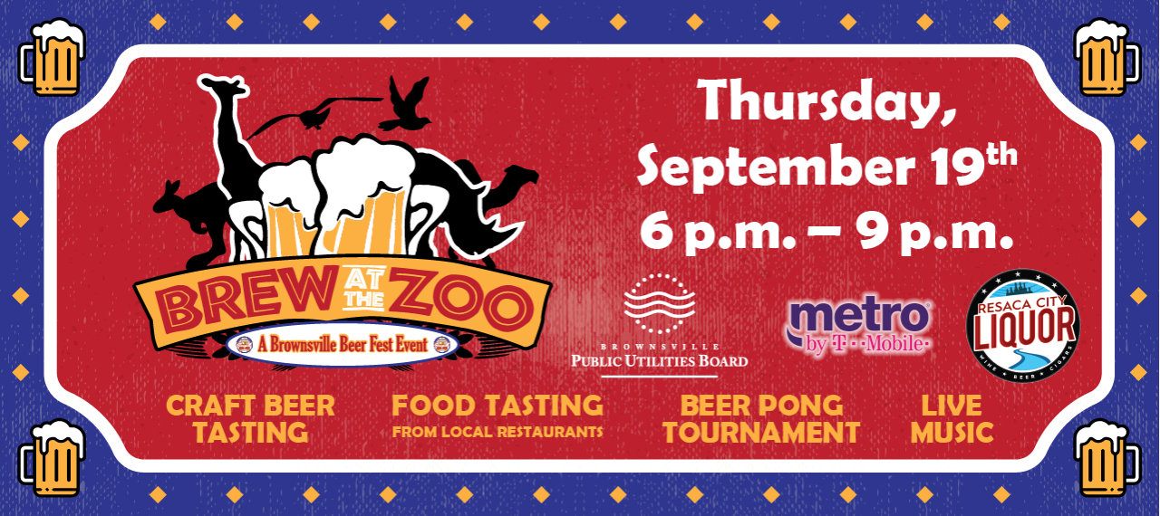 Brew At the ZOO - September 19th
